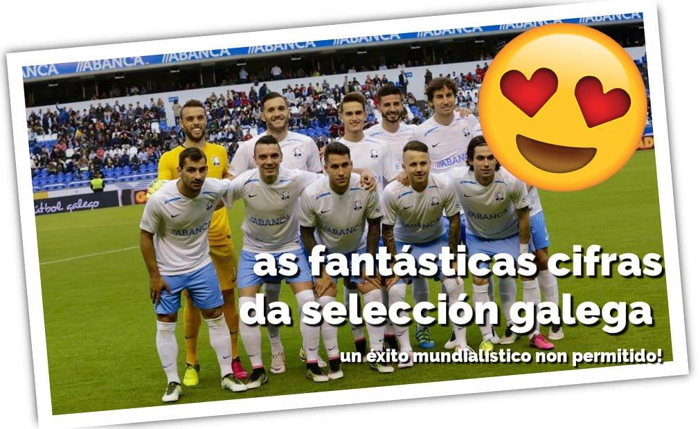 Imaxe de portada da selección galega de fútbol