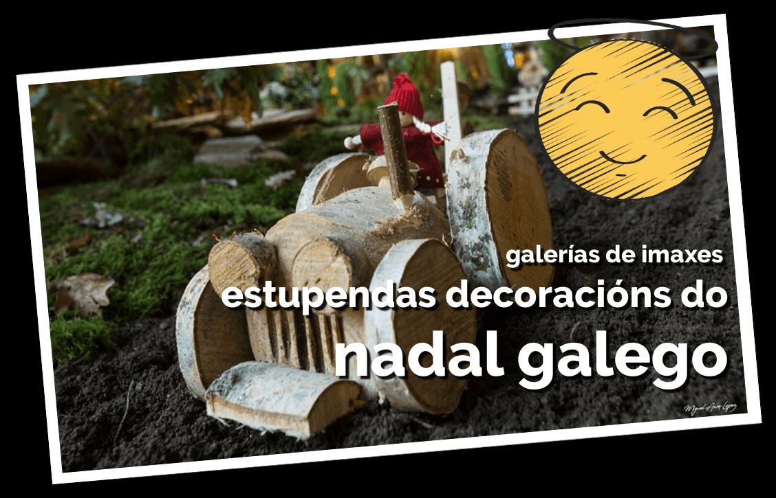galería de imaxes decoración do nadal galego, foto ilustrativa