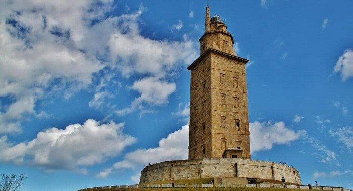 Faros de galicia. Torre de Hércules